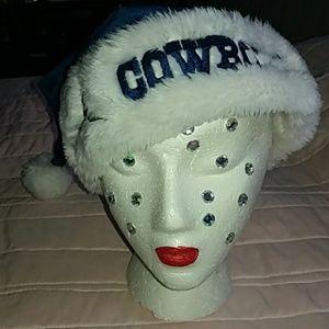 Dallas Cowboys Holiday Santa Hat